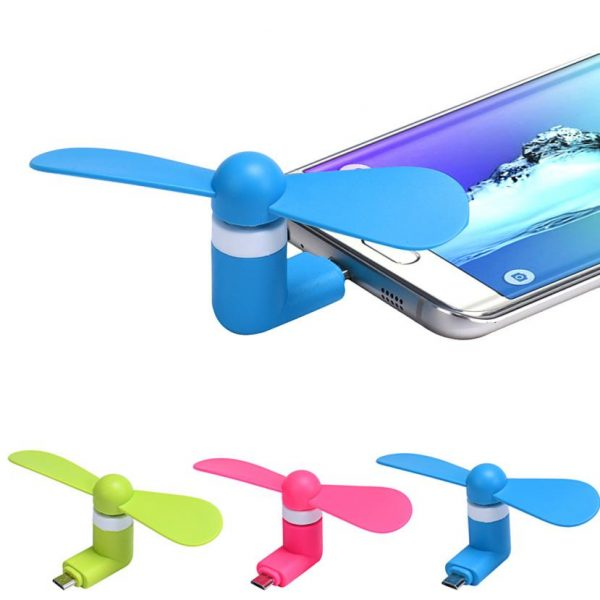 5Pin-Portabel-Super-Mute-USB-Cooler-Cooling-Fan-Mini-Untuk-Android-Phone-DEC18