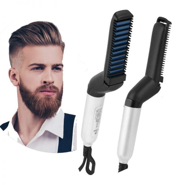 Beard-Straightener-for-Men-Multifunctional-Hair-Comb-Curly-Volume-up-Hair-Show-Cap-Electric-Heating-Hairbrush