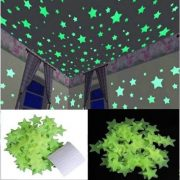 qweezer-pack-of-100-small-multi-colour-fluorescent-glow-in-the-dark-star-wall-sticker-500×500